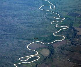 Il percorso contorto del Mississippi per arrivare al mare