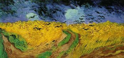Van Gogh - Campo di grano con corvi