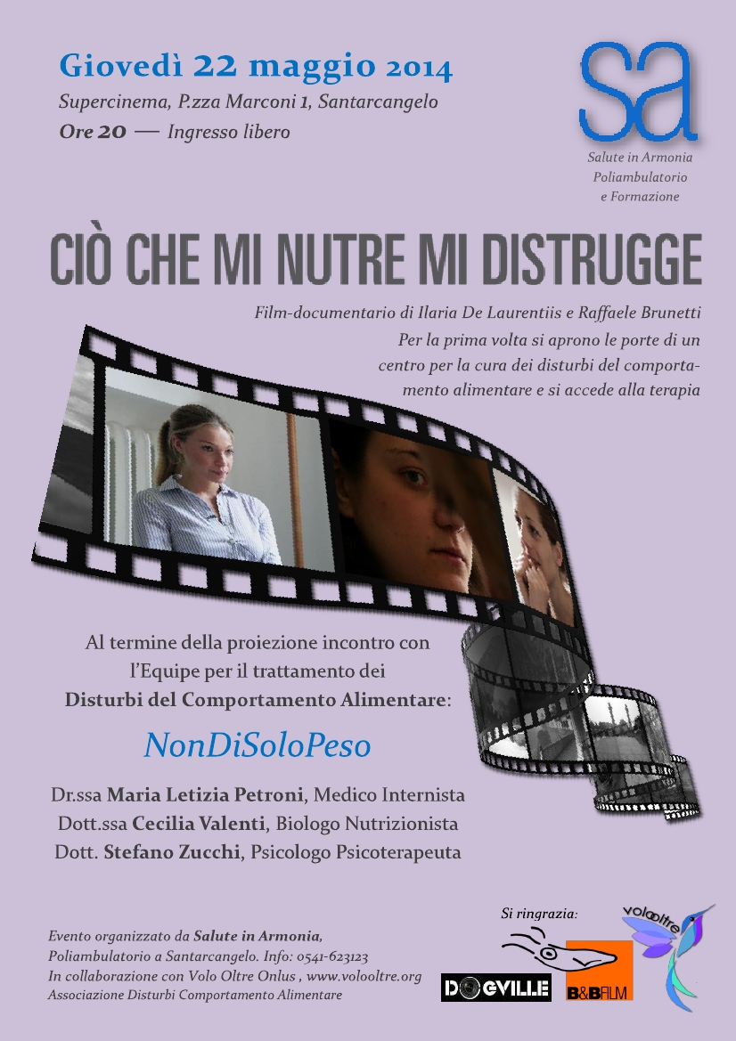 Documentario disturbi alimentari